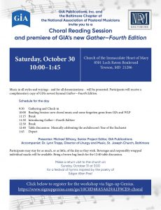 Choral Reading Session 10-30-21