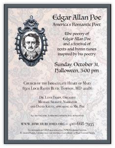 Edgar Allen Poe 10-31-21